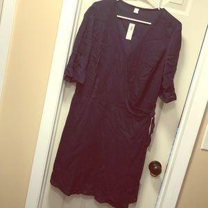 NWT Old Navy soft vneck dress